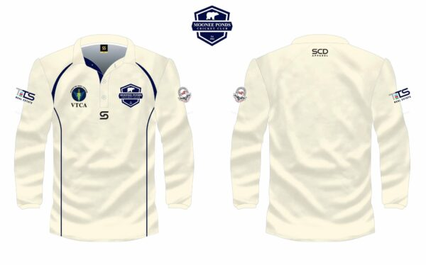 Long-Sleeved Two-Day Shirt Front & Back