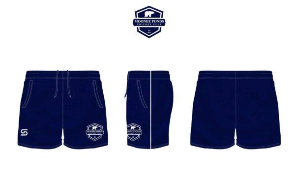 Shorts Front Side & Back