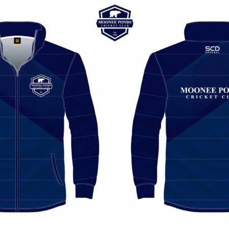 Puffer Jacket Front & Back