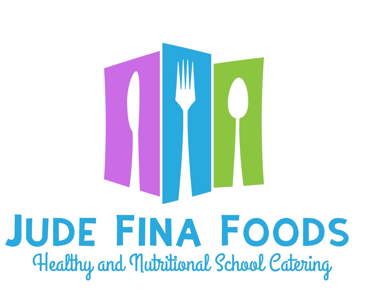 Jude Fina Foods New Logo